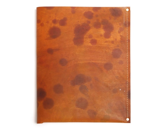 Large Leather Journal Slip Cover : Fits Moleskine Large Cahier