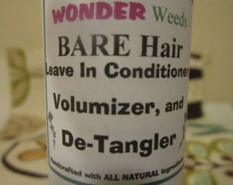 8oz Leave In Conditioner, De-Tangler, Volumizer, Hair Conditioner