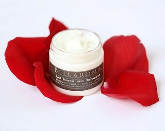 Red Roses + Geranium Hand and Facial WHIPPED CREME- As Seen At The Kentucky Derby's Julep Ball