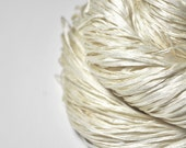 Ghost - natural Silk Tape Lace Yarn - SUMMER EDITION