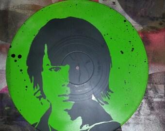Carl Grimes The Walking Dead Painting Pop Art Stencil