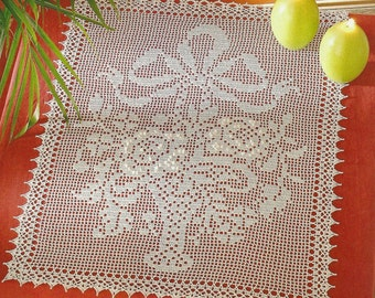 Crochet Tablecloth - Basket