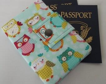 Dollbirdies Small Passport Wallet with ID Window