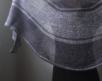 HAMARTIA Shawl Knitting Pattern PDF