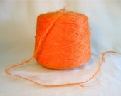 Ginger extra long tufted Mohair Yarn