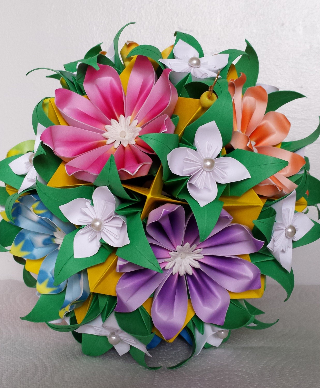 Оригами букеты, офис
