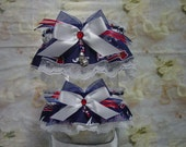 Atlanta Braves MLB Wedding Garter Set