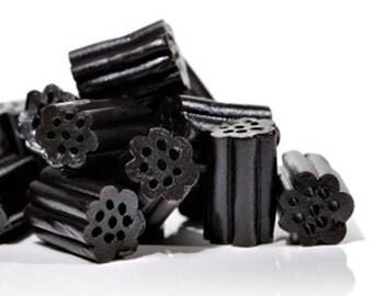 BODY SCRUB ~ Black Licorice Body Scrub Sugar or Sea Salt Body Polish 8 oz Jar Anise