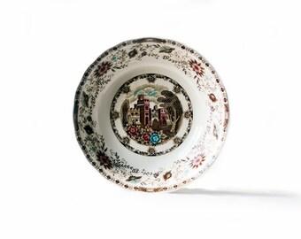 Serving Bowl | Manor Vista Pattern | Style House | Medieval | Castle | Floral
