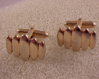 Swank Gold Cuff Links