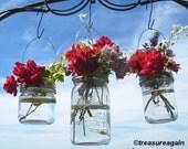10 DIY Vase Hangers Wide Mouth Mason Jar Wedding Flower Frog LIDS, Ball Canning Jar Flower Vase Lids Only