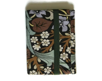 Kindle stand and case, Nook cover, E-Reader cover, Sanderson, William Morris Blackthorn fabric, mid 60s, Arts and Crafts fabric