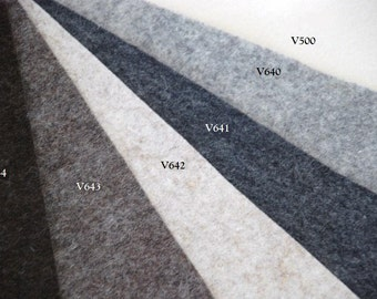 BIOFELT - Natural WOOL felt in available Different Sizes
