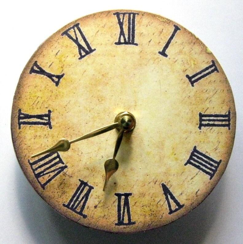 small wall clock victorian clock replica of a victorian. Black Bedroom Furniture Sets. Home Design Ideas