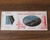 Vintage Grand Canyon Postcard Set | Postcard Pack and Miniature Album