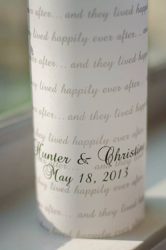 And They Lived Happily Ever After... Table Luminaries