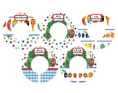 the very hungry caterpillar closet dividers