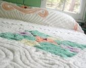 Full Double Chenille Bedspread