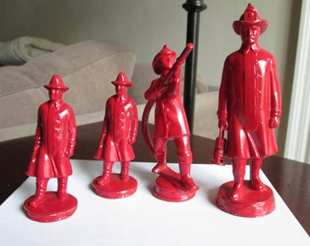 Firefighter Trophy Figurines