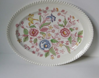 Johnson Bros. / English Bouquet / Oval Platter