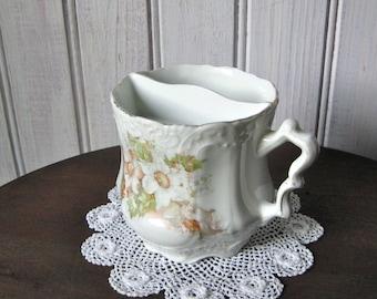 Wonderful Antique Shaving Mug / Floral