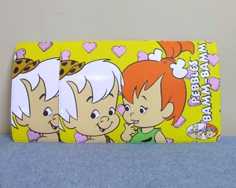 2 Pebbles and Bamm-Bamm Hanna Barbera 1993 Small Scale Placemats RARE