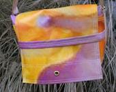 Reserved Listing for CutiePinky: Sizzling Summer Pink/Orange Messenger Bag