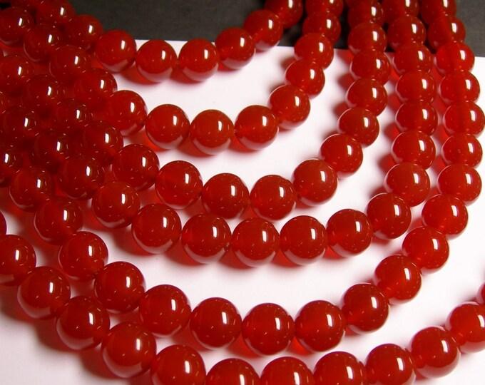 Carnelian - 12mm - 33 beads - full strand  - AA quality - RFG716