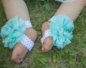Baby Shoes, Barefoot Sandals for Babies, Aqua Sandals, Baby Barefoot Sandals, Baby Girls Sandals, First Birthday Sandles, Beach Shoes