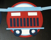 Choo Choo Train 1st Birthday Highchair Banner READY TO SHIP