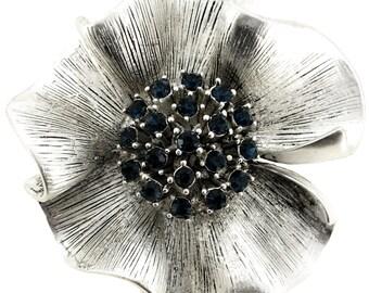 Montana Vintage Style Flower Brooch/Pendant 1001851