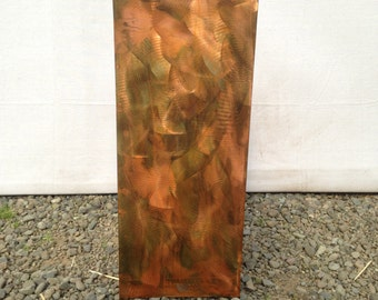 Metal Art Pedestal Functunal Art Furniture Sculpture  by Holly Lentz