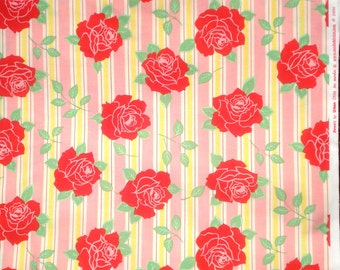 SALE : Urban Chiks Sweet Sassy in Bubblegum pink moda fabric FQ or more