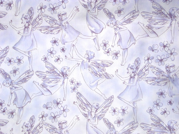 Super SALE : Alexander Henry Trixie Toile lilac fabric FQ or more
