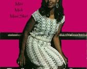 Vintage Crochet Midi Maxi Dress and Blouse Pattern PDF 647 from WonkyZebra
