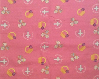 A Gorgeous Wishing You A Blessed Easter By David Textiles 2009 Cotton Fabric By The Yard Free US Shipping