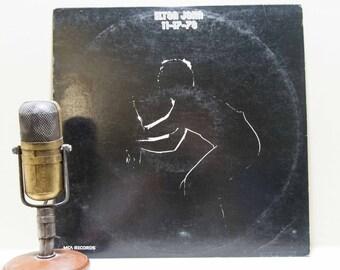 "ON SALE Elton John Vinyl Record Album 1970s Pop Rock Pomp ""11-17-70 Live"" (1977 MCA re-issue w/""Sixty Years On"", ""Take Me To The Pilot"")"