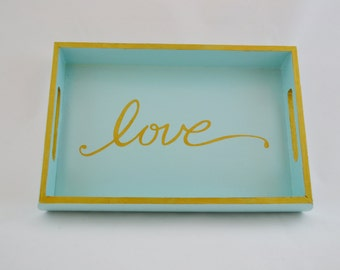 Love Serving Tray