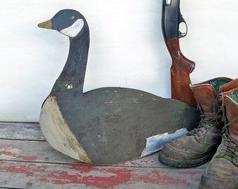 1950s Dunster Canada Goose Decoys - Hand-Painted on Fiberboard