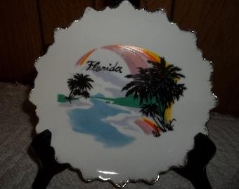 Vintage Florida Souviner Plate