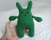 Green Squishy Bunny