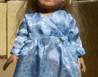"Bodice Overlap Dress - 18"" Doll Clothes"