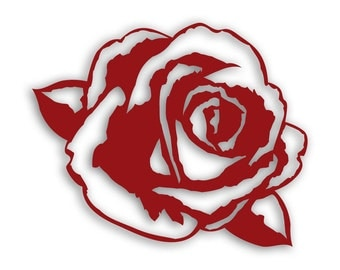 SVG/PNG/DXF Rose die cut for scrapbooking or card making