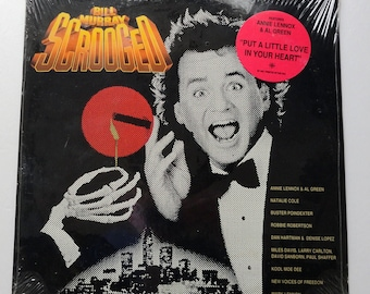 "Sealed ""Scrooged"" Vinyl Soundtrack (1988) Bill Murray, Annie Lennox"