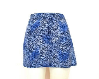 90's Animal Open Sides Cover Up Mini Skirt size - XS/S