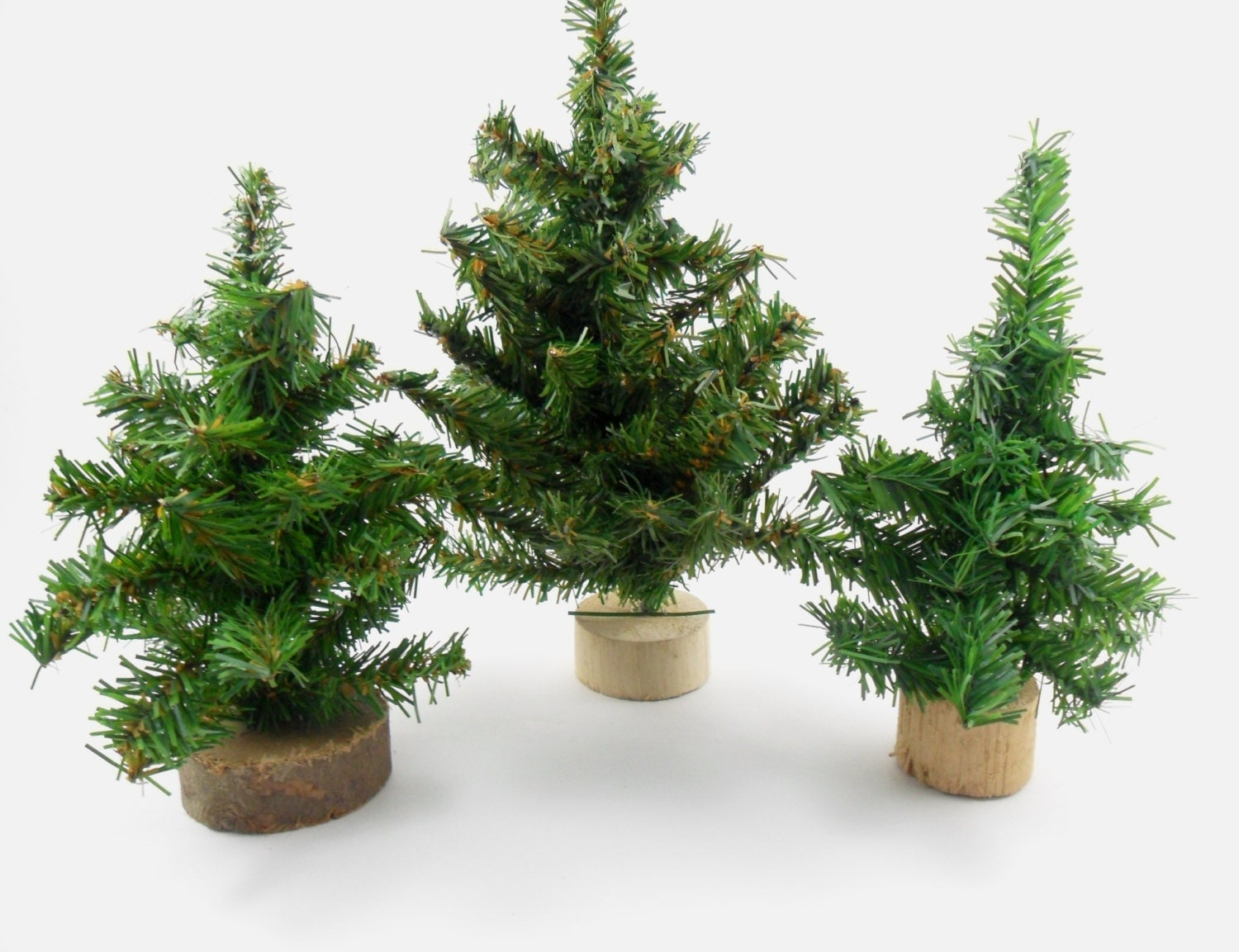 Artificial Mini Christmas Trees Evergreen 9 1