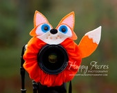 Lens Bling -Sly Fox with Squeaker - Ready to Ship