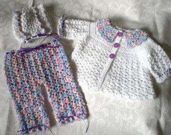 Happy Little 3 Piece Sweater Set for 12 Months +