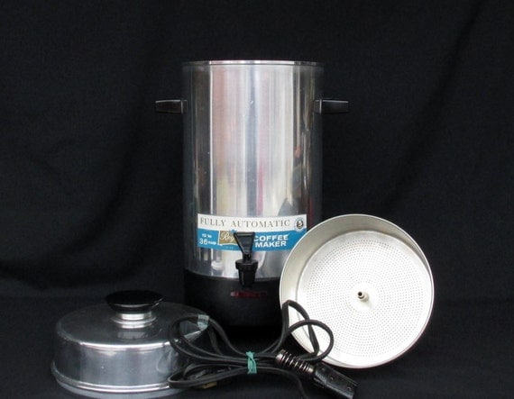 Regal Automatic Electric Coffee Maker 10 36 Cups No. 7036