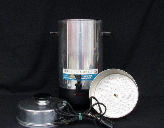 Automatic Electric Coffee Maker : Regal Automatic Electric Coffee Maker 10 36 Cups No. 7036